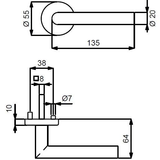 Ronny II-R Top Speed - technische Zeichnung