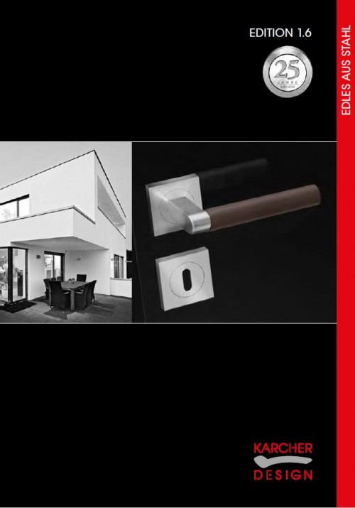Edles aus Stahl Katalog - Karcher