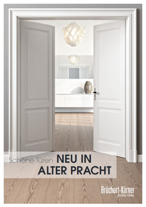 Neu in alter Pracht Katalog - Brüchert + Kärner
