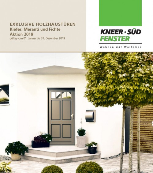 Holz-Haustüren - Kneer