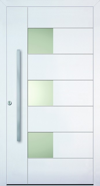 a 18 211 aluminium haust r mit glasausschnitt kneer. Black Bedroom Furniture Sets. Home Design Ideas