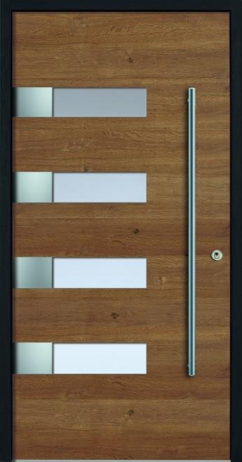 a 18 329 holz haust r mit glasausschnitt kneer. Black Bedroom Furniture Sets. Home Design Ideas