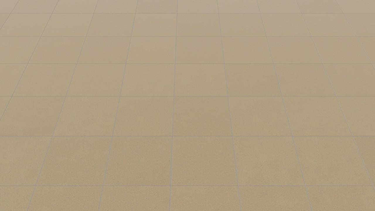 Verlegebild 1 frontal und schräg von Boden- und Wandfliesen Beige Matt Shooting Star 30,5 x 30,5 cm Feinsteinzeug - Interio