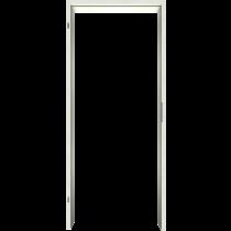 Zarge Uni Weiß Laminat (CPL) Rundkante VZ-6
