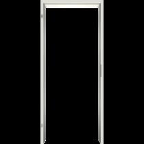 Zarge Weiss 9010 Lebolit-CPL Rundkante - Lebo