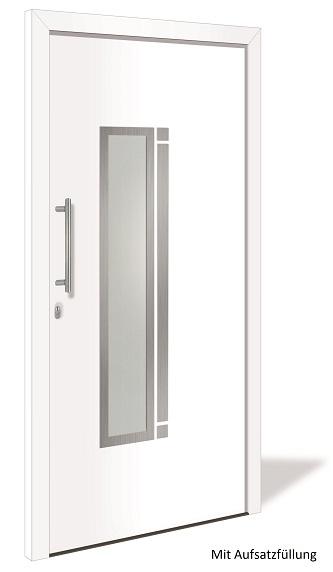 ht 1145 aluminium haust r mit glasausschnitt interio. Black Bedroom Furniture Sets. Home Design Ideas