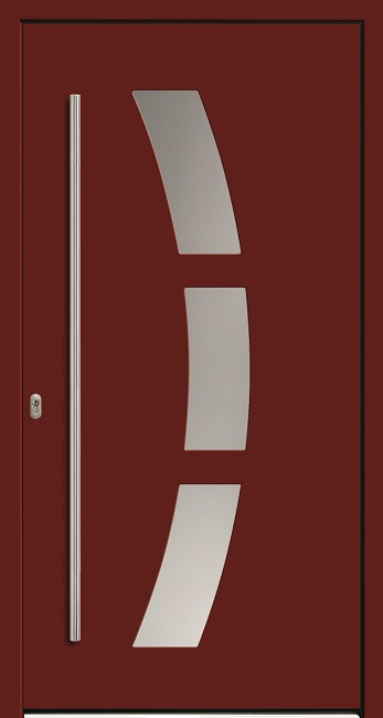 a 18 703 aluminium haust r mit glasausschnitt kneer. Black Bedroom Furniture Sets. Home Design Ideas