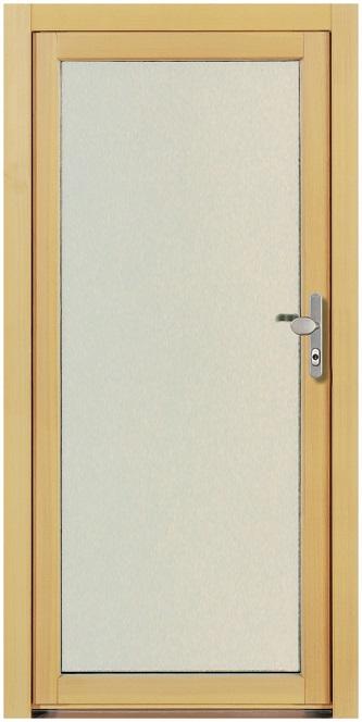 Beliebt NT A 4 Holz Nebeneingangstür mit Vollverglasung- Kneer » deinetuer.ch FS17