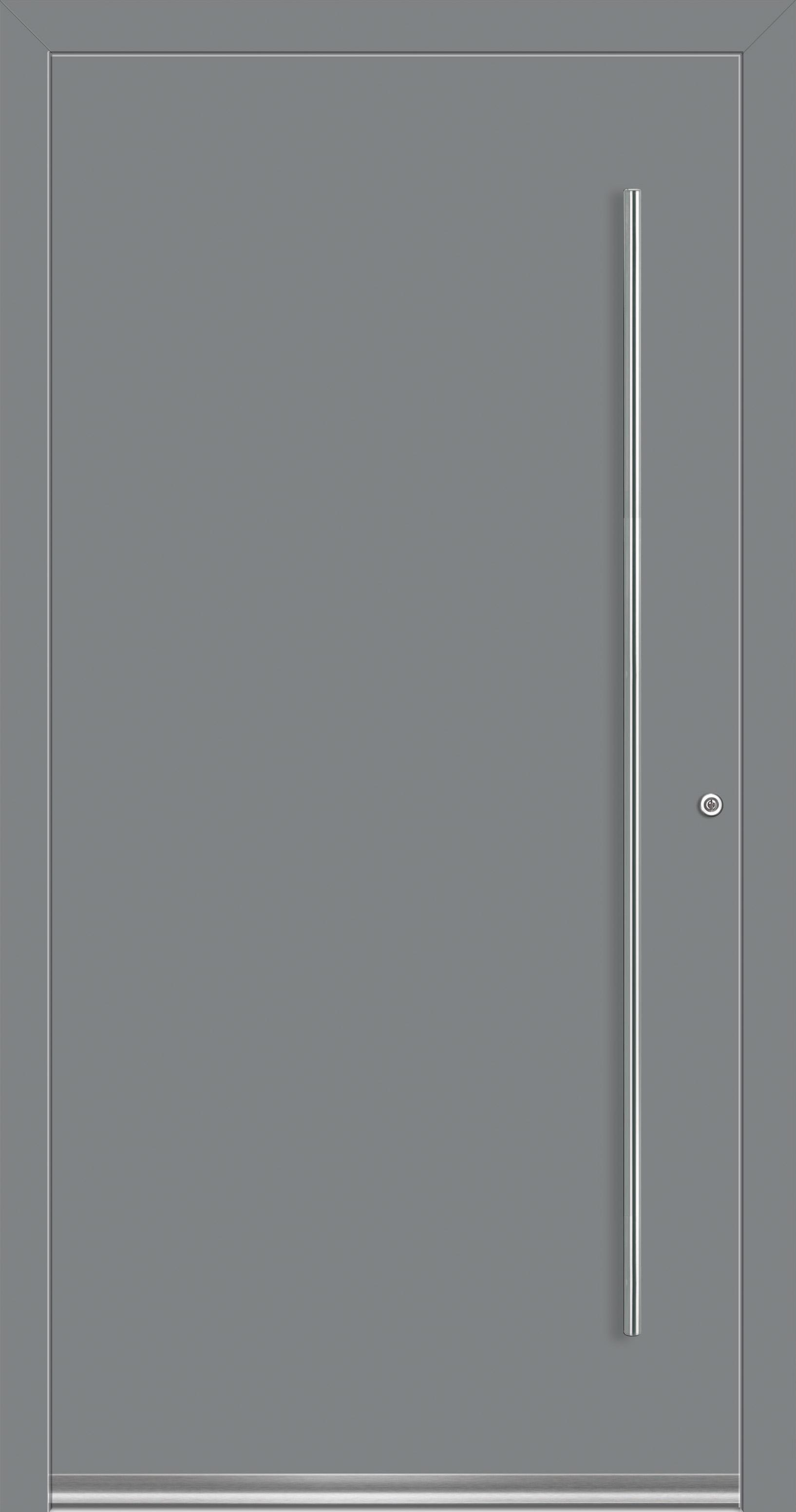 Rocket 9 Aluminium Haustür ohne Glasausschnitt - Interio » deinetuer.ch