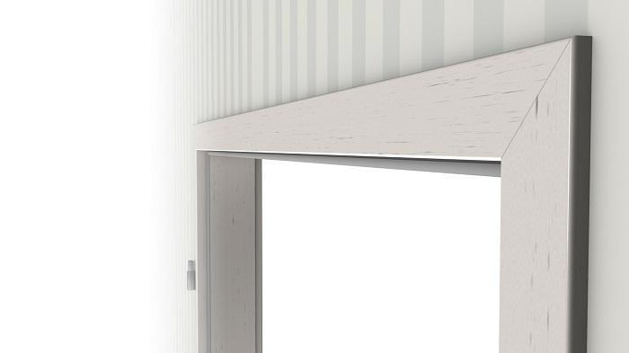 wohnungseingangst r set esche wei cpl mit zarge und beschlag. Black Bedroom Furniture Sets. Home Design Ideas