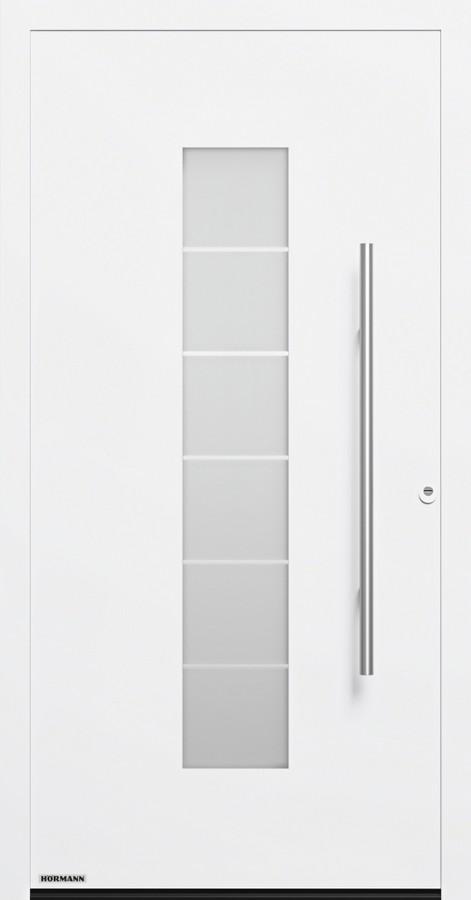 motiv 504 aluminium haust r thermosafe mit glasausschnitt h rmann. Black Bedroom Furniture Sets. Home Design Ideas