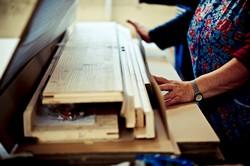 Zarge Massivholz Premium Handarbeit Verpackung Nachhaltig