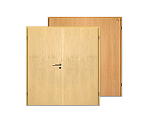 Echtholz-furniert, Doppelflügel-Türen