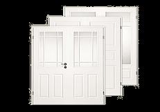 klassich, weiß, Stil, Landhaus, Doppelflügel-Türen