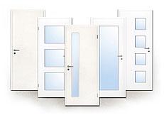 Innentür, Zimmertür, weiß, glatt, Weißlack, 9010, 9016