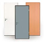 Rauchschutz-Türen, CPL, Kunststoff, Laminat, robust