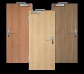 Rauchschutz-Türen, Echtholz-furniert, Furnier