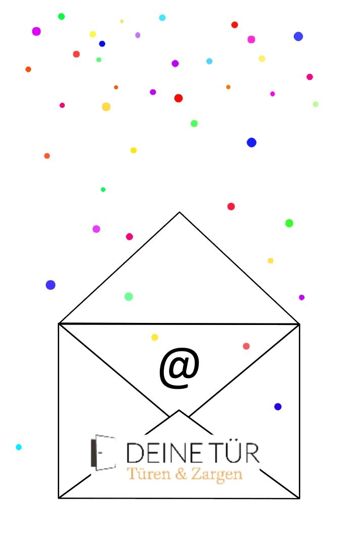 Newsletter, Deine Tür, Konfetti