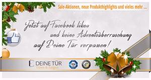 Deine Tür, Facebook, Adventskalender, Aktion, Sale