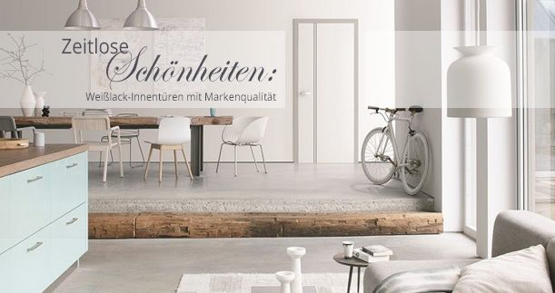Deine Tür, Jeld-Wen, Weißlack, Lombardo