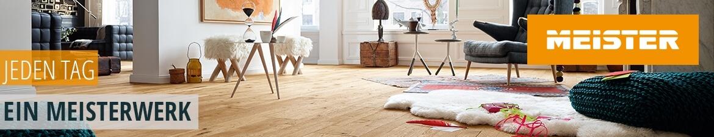 Böden von Meister, Parkett, Laminat, Designboden, Korkboden, Qualitätsböden, Premium, Markenboden