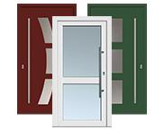 >Aluminium-Haustüren von Kneer