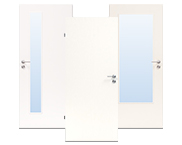 Weiße CPL Türen