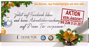 Deine Tür, Facebook, Adventskalender, Aktion, Sale