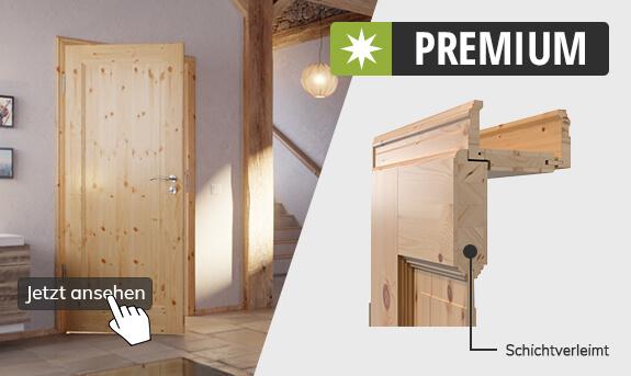 Massivholztüren Premium