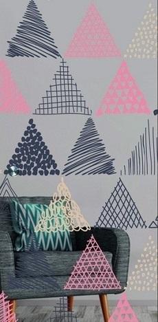Tria Farbprint Schiebetür Ganzglas - Erkelenz