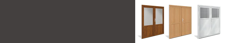 Doppelflügel-Nebeneingangstüren online kaufen