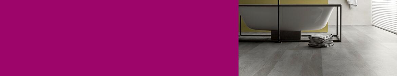 Vinylboden in Farbmix-Optik