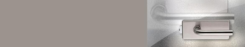 Glastürdrücker im Edelstahl-Look online kaufen