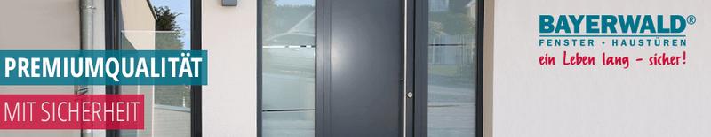 Haustüren von Bayerwald,  sichere Wohnungseingangstüren, deutsche Markenqualität, hochwertig