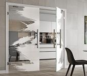 Doppelflügeltüren aus Glas