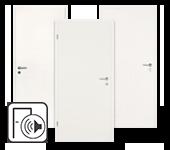 Weiße Schallschutztüren